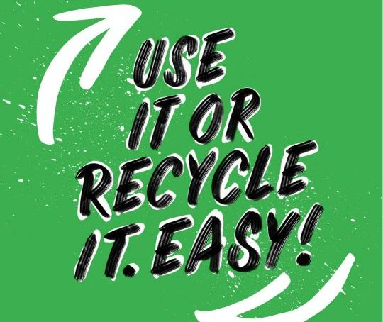Use It or Recycle It Social Media